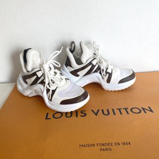 LOUIS VUITTON - LOUIS VUITTON アークライトライン スニーカー