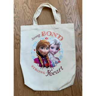 ディズニー(Disney)のアナ雪 トートバッグ 布バッグ エコバッグ(エコバッグ)
