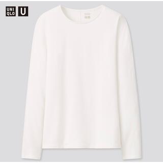 ユニクロ(UNIQLO)のUNIQLO ヒートテックコットンクルーネックT(Tシャツ(長袖/七分))