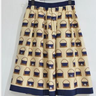 M'S GRACY - M'sグレイシー バッグ柄 スカート 36