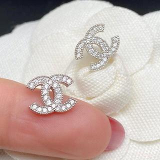 CHANEL - 【記念SALE】CHANEL pierce 0016 silver