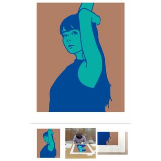 KYNE Untitled : H(版画)