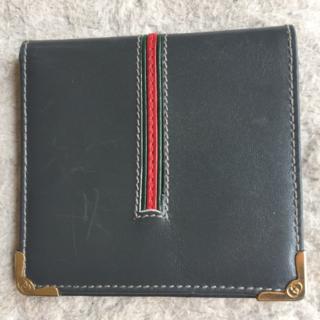 グッチ(Gucci)の【金運UP!】Gucci グッチ 新品未使用アウトレット 二つ折り財布(折り財布)