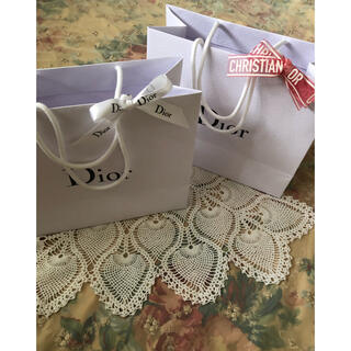 ディオール(Dior)のディオール 紙袋 ショッパー リボン(ショップ袋)