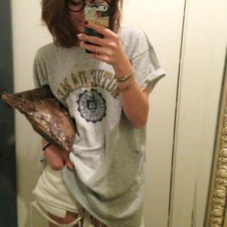 トゥデイフル(TODAYFUL)の【TODAYFUL】カレッジTシャツ(Tシャツ(半袖/袖なし))