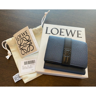 LOEWE - 【LOEWE】トライフォールド Indigo Dye/Black