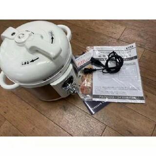 電気圧力鍋 LPC-T12-W 炊飯可能、一人暮らしに最適 レシピ本あり(調理機器)