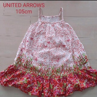 UNITED ARROWS - [105cm]ユナイテッドアローズ キャミワンピース