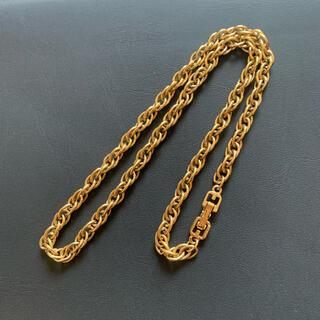 ジバンシィ(GIVENCHY)のGIVENCHY ジバンシー  美品 スクリューチェーン ネックレス 正規品(ネックレス)