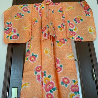 女児浴衣🌻ひまわり(甚平/浴衣)