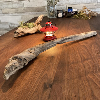 ひねりある流木、天然物、オブジェ、インテリア16(彫刻/オブジェ)