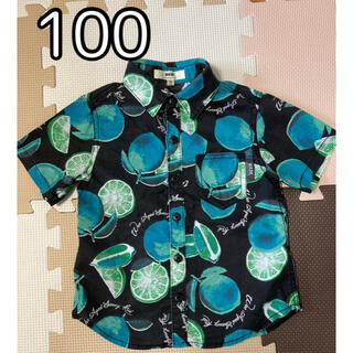 ベベ(BeBe)の半袖 シャツ 子供服 100 男の子(Tシャツ/カットソー)