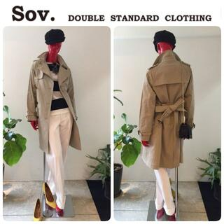 ダブルスタンダードクロージング(DOUBLE STANDARD CLOTHING)の定価52800円 新品 ダブルスタンダード ライナー付 トレンチ 希少34(トレンチコート)