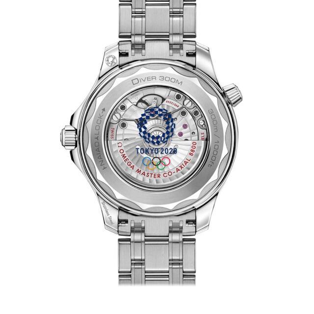 OMEGA(オメガ)のジオス様。シー マスター 東京2020 リミテッドエディション メンズの時計(腕時計(アナログ))の商品写真