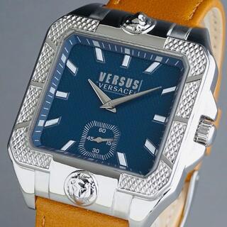 VERSACE - 【新品・正規品】ヴェルサス ヴェルサーチ 高級 メンズ腕時計 レクタンギュラー