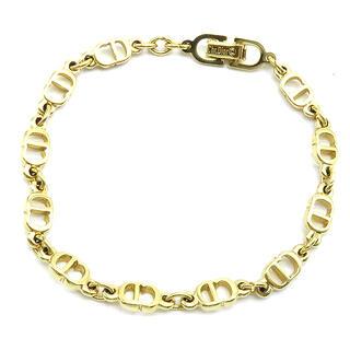 Dior - ディオール  ブレスレット  CD ロゴ   ゴールド