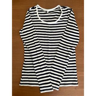 ムジルシリョウヒン(MUJI (無印良品))の無印良品 ボーダーシャツ(Tシャツ(長袖/七分))