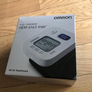 OMRON - omron オムロン 手首式血圧計 HEM-6163