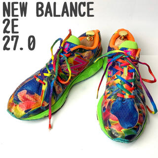 ニューバランス(New Balance)のNEW BALANCE スニーカー ランニングシューズ 軽量 2E かわいい(シューズ)