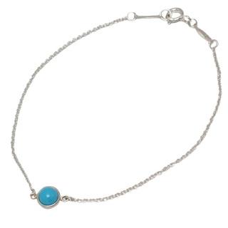 ティファニー(Tiffany & Co.)のティファニー バイザヤード ブレスレット ターコイズ  40800072657(ブレスレット/バングル)