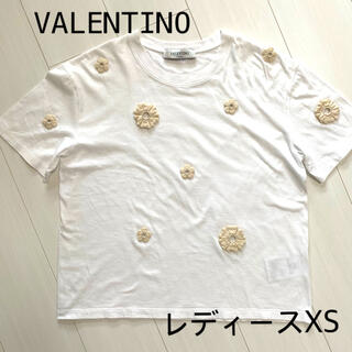 ヴァレンティノ(VALENTINO)のVALENTINO ヴァレンティノ 半袖Tシャツ レディースXS オーバーサイズ(Tシャツ(半袖/袖なし))