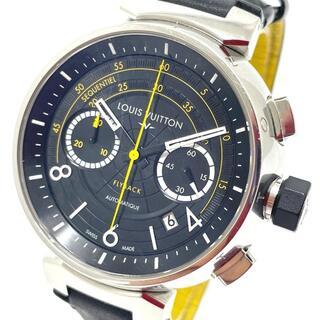 ルイヴィトン(LOUIS VUITTON)のルイヴィトン Q102B クロノグラフ タンブール フライバック メンズ腕時計(腕時計(アナログ))