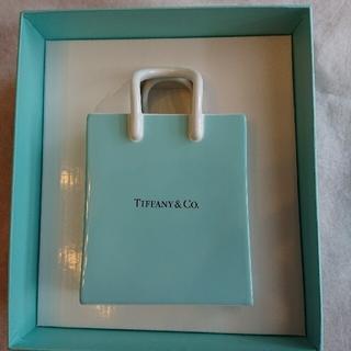 ティファニー(Tiffany & Co.)のペコちゃんさま ご専用TIFFANY ショッピングバック型陶器オーナメント(小物入れ)
