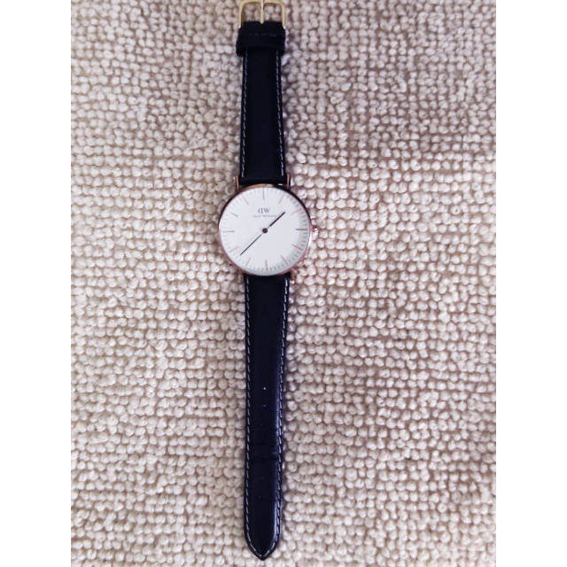 Daniel Wellington(ダニエルウェリントン)のDaniel Wellington(ダニエルウェリントン) 腕時計 正常動作美品 レディースのファッション小物(腕時計)の商品写真