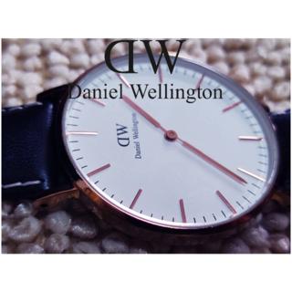 ダニエルウェリントン(Daniel Wellington)のDaniel Wellington(ダニエルウェリントン) 腕時計 正常動作美品(腕時計)