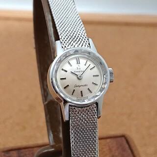 オメガ(OMEGA)の【オーバーホール済み】オメガ レディマティック レディース自動巻き ブレス付美品(腕時計)