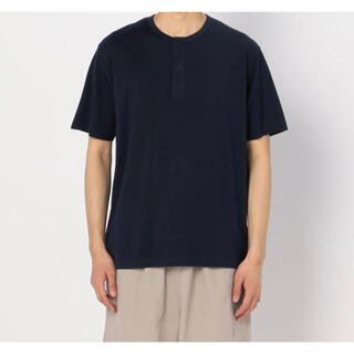 ワンエルディーケーセレクト(1LDK SELECT)の【handvaerk】ヘンリーネックTシャツ(Tシャツ/カットソー(半袖/袖なし))
