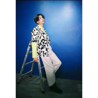 Yohji Yamamoto - KOZABURO 19SS DRAWING SHIRT SIZE 2