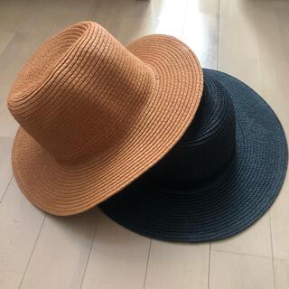 スライ(SLY)のストローハット 女優帽 ハット 麦わら(麦わら帽子/ストローハット)