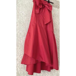 DEUXIEME CLASSE - plain people 巻きスカート おリボン