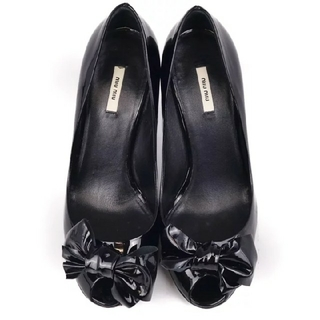 ミュウミュウ(miumiu)のミュウミュウ靴ZARAセブントゥエルブサーティRepettoドルガバVICINI(ハイヒール/パンプス)
