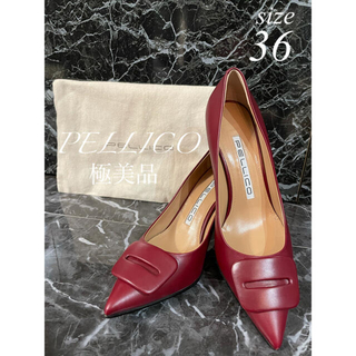 PELLICO - 【極美品】PELLICO ペリーコ   ANELLI FIBBIA パンプス