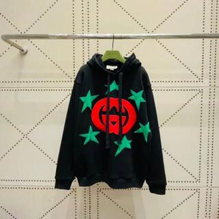 Gucci - Gucci GGスタープリント フーデッドスウェットシャツ