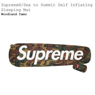 シュプリーム(Supreme)のsupreme Sea to Summit Sleeping Mat (寝袋/寝具)
