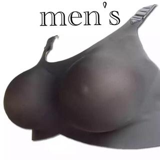 男性用ブラジャー シリコンバスト 人工乳房 コスプレ 女装Bカップ(コスプレ用インナー)