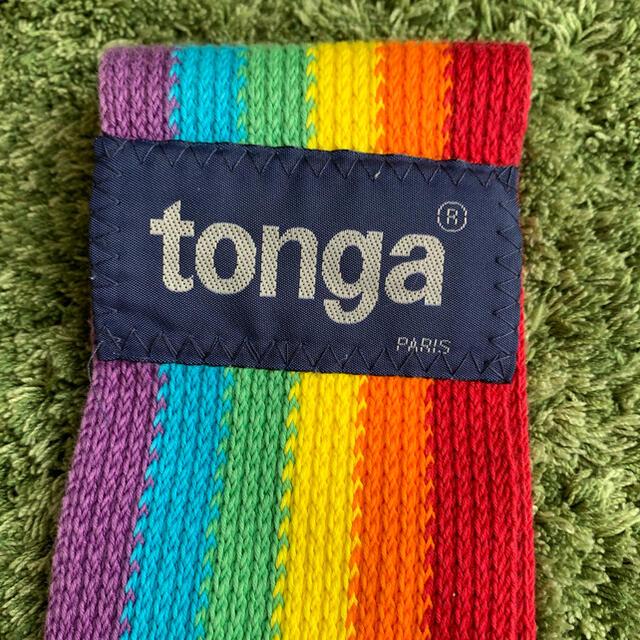 tonga(トンガ)のtonga fit (トンガ・フィット) レインボー  S キッズ/ベビー/マタニティの外出/移動用品(抱っこひも/おんぶひも)の商品写真