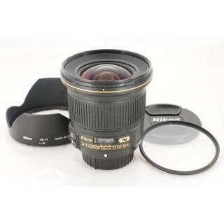 ニコン(Nikon)の【明るい単焦点】Nikon AF-S 20mm F1.8G ED ナノクリ(レンズ(単焦点))