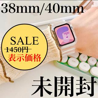 大人気 AppleWatch クリアバンド ベルト アップルウォッチ 韓国雑貨