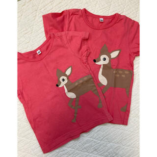 ニシマツヤ(西松屋)のTシャツ 姉妹おそろい 100 90(Tシャツ/カットソー)