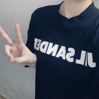 ジルサンダー(Jil Sander)のJIL SANDER ジルサンダー Tシャツ ブラック(Tシャツ/カットソー(半袖/袖なし))