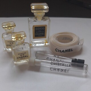 CHANEL - CHANEL 香水空き瓶 ミニサイズ