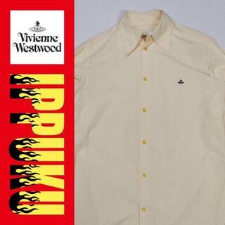 ヴィヴィアンウエストウッド(Vivienne Westwood)の90年代 90s ヴィヴィアンウエストウッド シャツ インポート 長袖(シャツ)