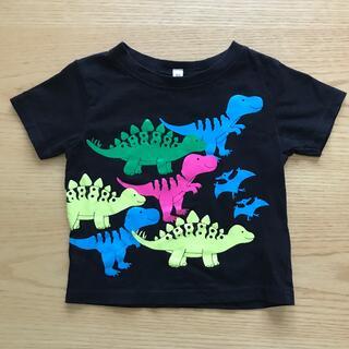 ニシマツヤ(西松屋)の恐竜Tシャツ黒⭐︎サイズ80(Tシャツ)