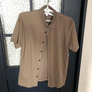 ユニクロ(UNIQLO)のMサイズ UNIQLO × theory  フルオープン ポロシャツ(シャツ)