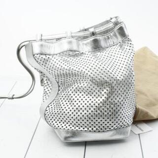 celine - 【美品】celine セリーヌ レザー 巾着バッグ 正規品