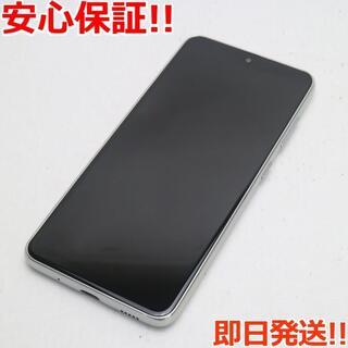 ギャラクシー(Galaxy)の美品 SC-42A Galaxy A21 ホワイト(スマートフォン本体)
